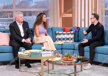 Eamonn Holmes, Rochelle Humes and Kevin Clifton