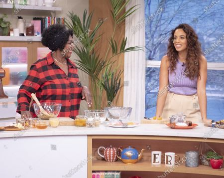 Rochelle Humes and Rustie Lee
