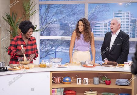 Eamonn Holmes, Rochelle Humes and Rustie Lee