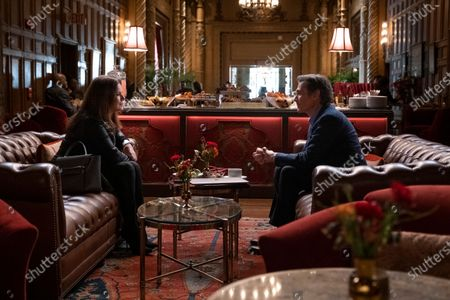 Marcia Gay Harden as Maggie and Billy Crudup as Cory Ellison