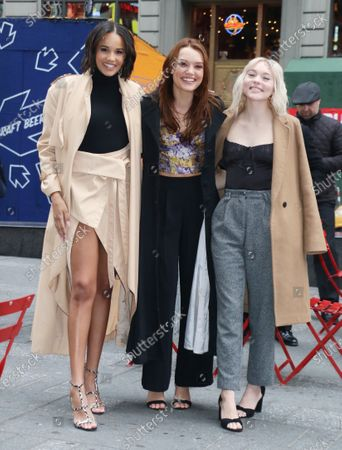 Stock Photo of Ashley Nicole Williams, Jessica Sutton, Taylor Hickson