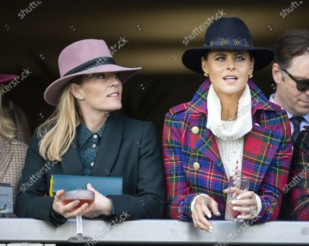 Autumn Phillips and Jade Holland Cooper