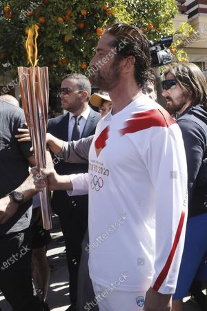 Editorial image of Olympic Flame Relay Tokyo Virus Outbreak, Sparta, Greece - 13 Mar 2020