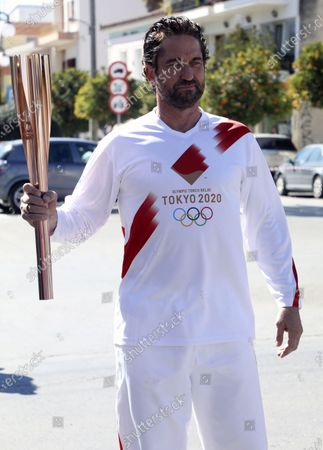 Editorial picture of Olympic Flame Relay Tokyo Virus Outbreak, Sparta, Greece - 13 Mar 2020