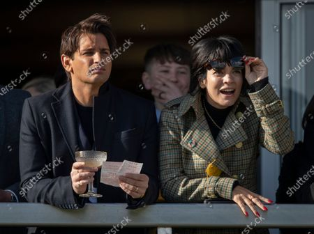Stock Image of Ollie Locke and Lily Allen