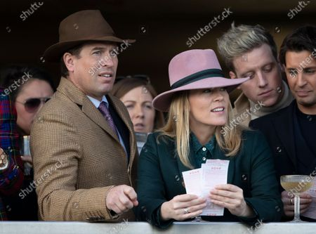 Stock Picture of Peter Phillips and Autumn Phillips