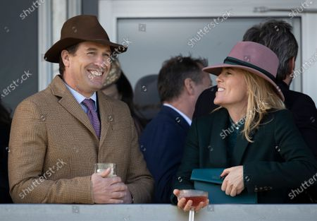 Stock Photo of Peter Phillips and Autumn Phillips
