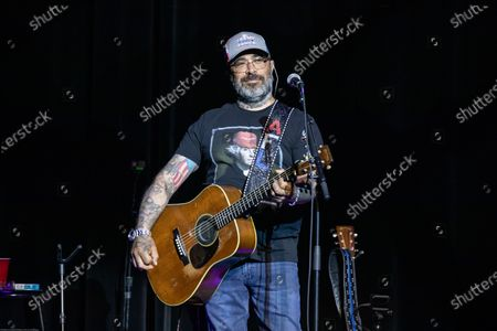 Editorial image of Aaron Lewis in concert at Motor City Casino-Hotel Sound Board Theater, Detroit, USA - 12 Mar 2020