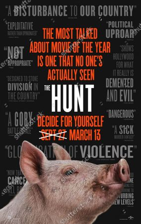 Editorial photo of 'The Hunt' Film - 2020