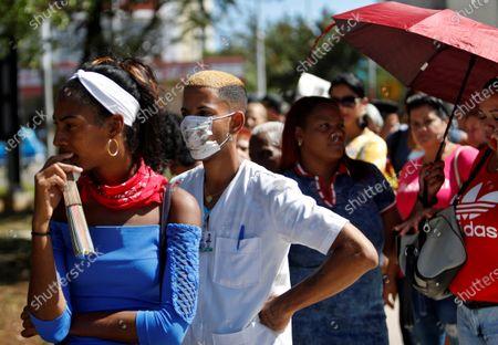 Editorial photo of Cubans begin to take measures against the coronavirus, Havana, Cuba - 13 Mar 2020