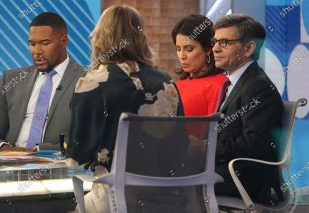 Michael Strahan, Cecilia Vega, George Stephanopoulos and Lara Spencer