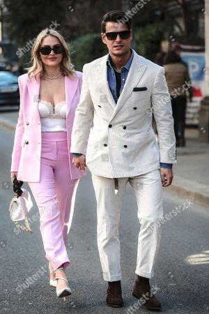 Stock Picture of Giulia Gaudino and Frank Gallucci