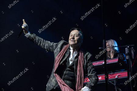 Editorial picture of Simple Minds in concert, Stockholm, Sweden - 06 Mar 2020
