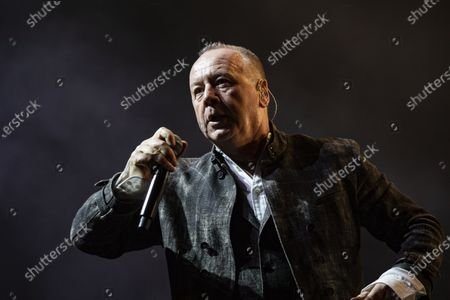 Stock Picture of Simple Minds - Jim Kerr