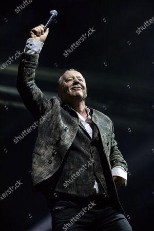 Editorial photo of Simple Minds in concert, Stockholm, Sweden - 06 Mar 2020