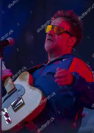 Stock Photo of The Argentinean musician Vicentico performs during the Vive Latino music festival in Mexico City, . The two-day rock festival is one of the most important and longest running of Mexico