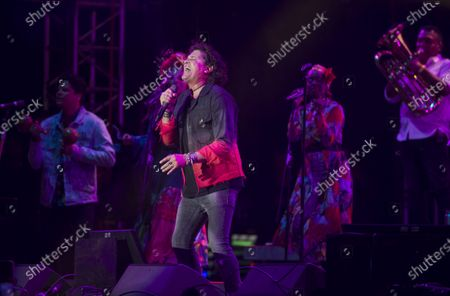 Stock Photo of Carlos Vives performs during the Vive Latino music festival in Mexico City, . The two-day rock festival is one of the most important and longest running of Mexico