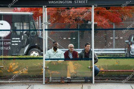 Winston Duke as Hawk, Alan Arkin as Henry and Mark Wahlberg as Spenser
