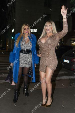 Francesca Cipriani and Roddy Alves