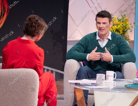 Editorial image of 'Lorraine' TV show, London, UK - 16 Mar 2020