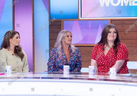 Stacey Solomon, Kerry Katona, Molly McFadden