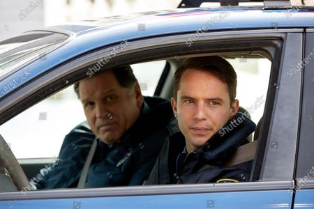 Skipp Sudduth as Officer Coletti and Will Brittain as Officer Justin Brennan