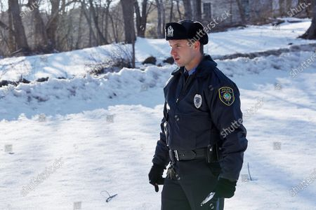 Stock Photo of Will Brittain as Officer Justin Brennan