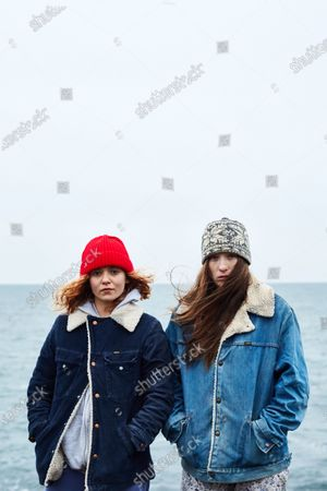 Morgan Saylor as Mary Beth Connolly and Sophie Lowe as Priscilla Connolly