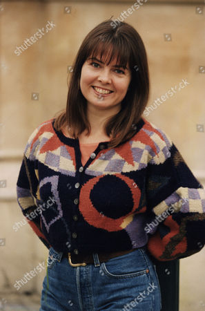 Charlotte Attenborough Actress Wearing A Knitted Jumper..