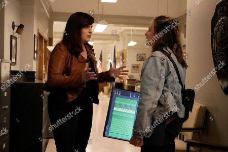 Allison Tolman as Jo Evans and Maria Dizzia as Emily