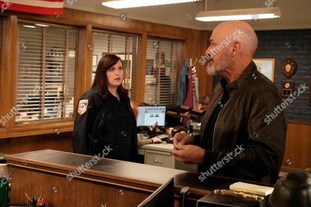 Stock Picture of Allison Tolman as Jo Evans and Terry O'Quinn as Richard Kindred