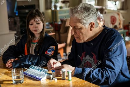 Alexa Swinton as Piper and Clancy Brown as Ed Sawyer