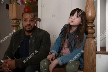 Donald Faison as Alex Evans and Alexa Swinton as Piper