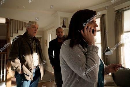 Clancy Brown as Ed Sawyer, Donald Faison as Alex Evans and Allison Tolman as Jo Evans