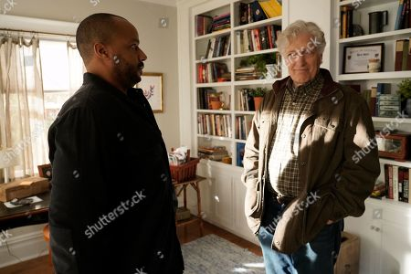 Donald Faison as Alex Evans and Clancy Brown as Ed Sawyer