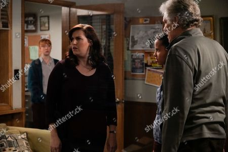 Allison Tolman as Jo Evans and Clancy Brown as Ed Sawyer