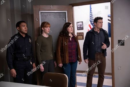 Robert Bailey Jr as Officer Chris Minetto, Evangeline Young as Daphne, Allison Tolman as Jo Evans and Enver Gjokaj as Agent Ryan Brooks