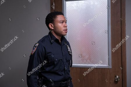 Robert Bailey Jr as Officer Chris Minetto