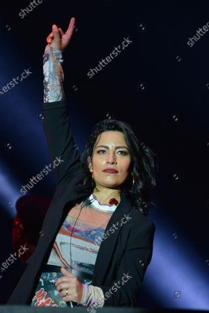 Editorial picture of Tiempo de Mujeres Music Festival, Zocalo, Mexico City, Mexico - 07 Mar 2020
