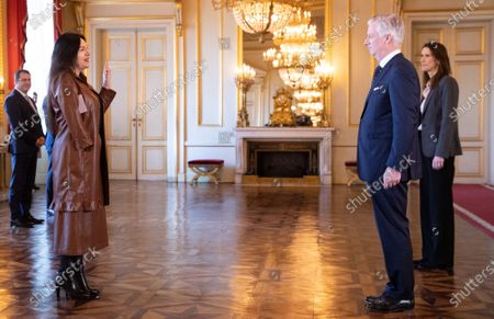 Editorial image of Oath of the new Belgian government, Brussels, Belgium - 17 Mar 2020