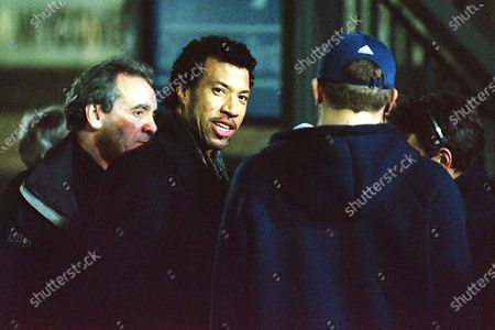 American singer songwriter, composer, Lionel Richie walks around the ground meeting fans ahead of kick-off during Wycombe Wanderers vs Notts County, Nationwide League Division Two Football at Adams Park on 6th October 2000
