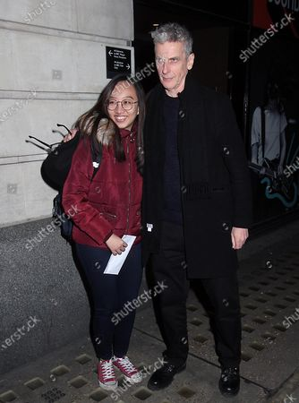 Editorial image of Peter Capaldi out and about, London, UK - 26 Feb 2020