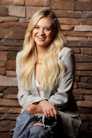 "Kelsea Ballerini poses in Nashville, Tenn., to promote her third album, ""Kelsea."" The album features collaborations with Kenny Chesney, Halsey and Ed Sheeran"