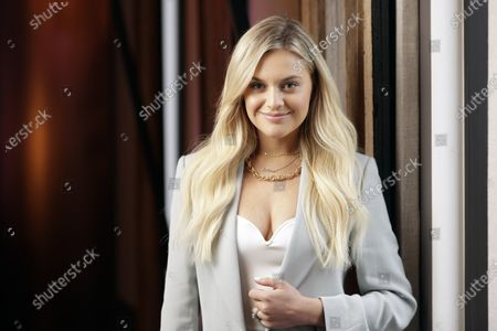 """Kelsea Ballerini poses in Nashville, Tenn., to promote her third album, """"Kelsea."""" The album features collaborations with Kenny Chesney, Halsey and Ed Sheeran"""