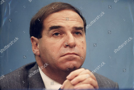 Editorial image of Sir Leon Brittan - 1992 Vice President Commission Of The European Communities (now Baron Brittan Of Spennithorne In The County Of North Yorkshire) (rt Hon Sir Leon Brittan Qc Life Peer)