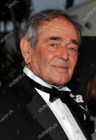 Actor Stuart Whitman arrives at the Santa Barbara International Film Festival black-tie gala fundraiser in Santa Barbara, Calif. Whitman, who appeared in hundreds of films and television shows, died Monday in Montecito, Calif. at 92