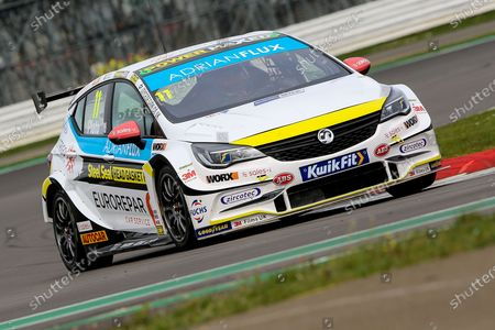 #11 Power Maxed Car Care Racing - Vauxhall Astra driver, Jason Plato during the BTCC Media Day, held at Silverstone, Towcester