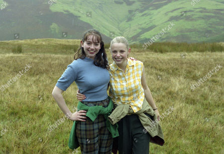 Stock Picture of Victoria Shalet, as Vivenne, Alexandra Milman, as Juanita