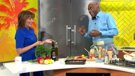 Lorraine Kelly and Ainsley Harriott