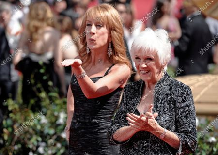 Stock Picture of Kathy Griffin and her mother Maggie Griffin arrive at the 62nd Primetime Emmy Awards in Los Angeles. The mother of comedian Kathy Griffin, who inspired many of the jokes in her famous daughter's standup routines, died . She was 99